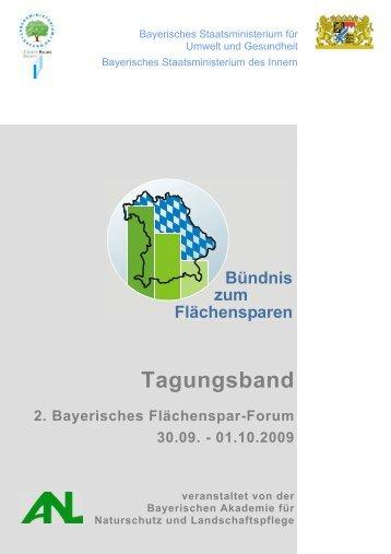 2. Bayerisches Flächenspar-Forum - Bayerisches Staatsministerium ...