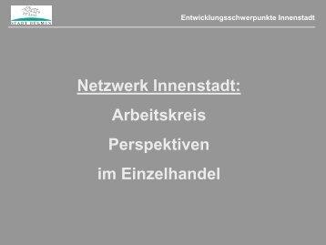 Präsentation Stadt Dülmen - Netzwerk Innenstadt NRW