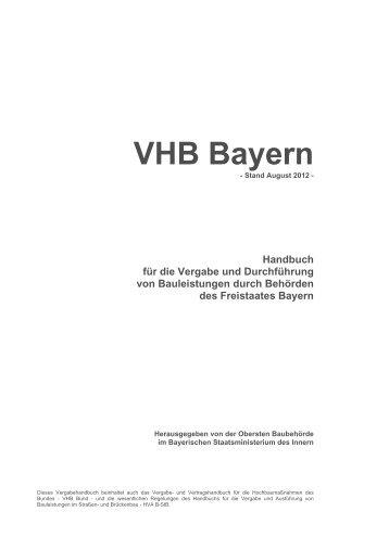 VHB Bayern - Stand August 2012