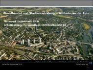 Präsentation / Martin Harter, Stadt Mülheim an der Ruhr - Netzwerk ...