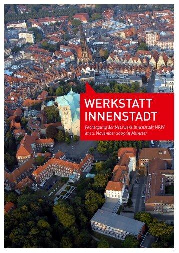 WERKSTATT INNENSTADT - Netzwerk Innenstadt NRW