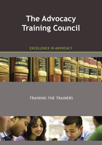ATC Training the Trainers - The Honourable Society of the Inner ...