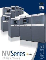 Nautel NV Series Brochure - Innes Corporation