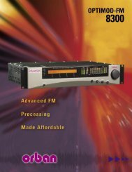 Optimod-FM 8300