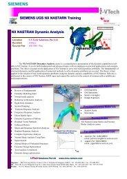 NX Nastran Dynamic Analysis-4 Days.pub - inno-venture.com