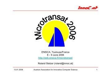 Friday, 9 June 2006 - InnoC