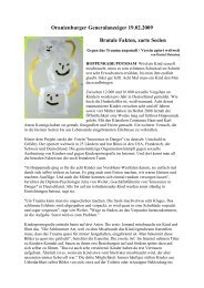 2. Artikel Ausstellung Kunstwoche - Innocence in danger