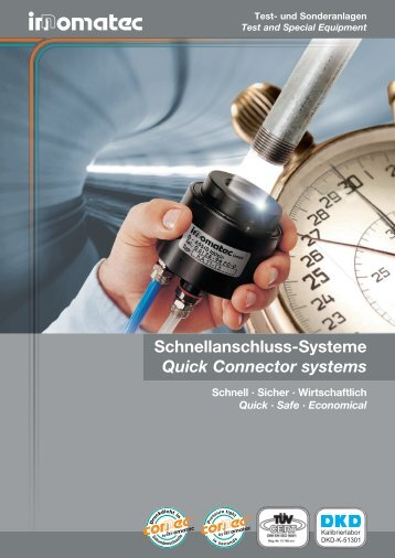 Quick Connector system KA - Innomatec