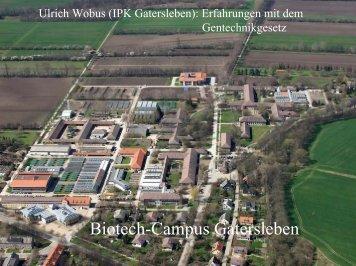 Biotech-Campus Gatersleben - InnoPlanta
