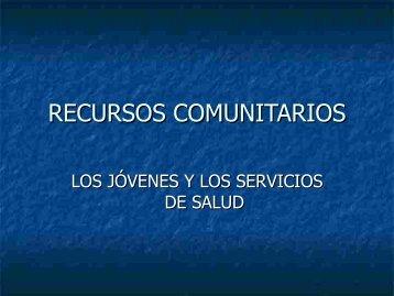 Recursos Comunitarios. - Innova