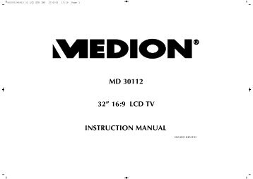 METZ Milos 26 32 37 S LCD television Operating Instruction