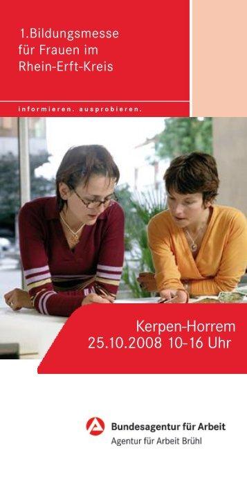 Kerpen-Horrem 25.10.2008 10-16 Uhr - Stadt Kerpen