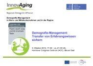 Präsentation Projekt InnovAging - InnovAging - Leibniz Universität ...