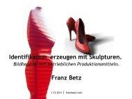 Präsentation Franz Betz - InnovAging