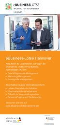 eBusiness-Lotse Hannover - InnovAging
