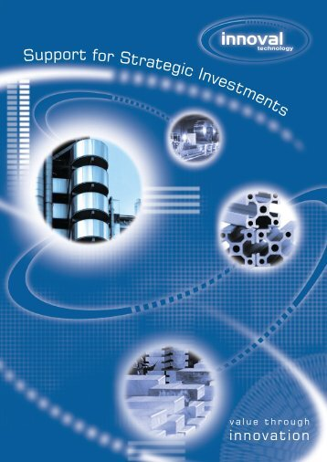 Support for Strategic Investments - Innoval Technology Ltd