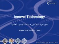 No Slide Title - Innoval Technology Ltd