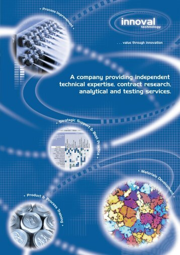 Innoval Brochure - Innoval Technology Ltd