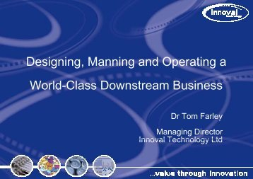 Designing a World-Class Downstream Aluminium Plant - Innoval ...
