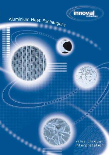 Heat Exchangers - Innoval Technology Ltd