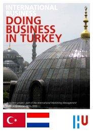 international business doing business in turkey - Kenniscentrum ...