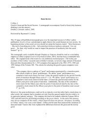 Book Review Collins, J. Good to Great and the Social Sectors: A ...