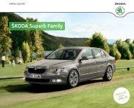 Superb Family Katalog inkl. Preise/Ausstattung - DHT Automobile
