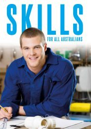 Skills for all Australians - The Department of the Prime Minister and ...