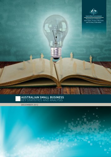 australian small business key statistics and analysis - Department of ...