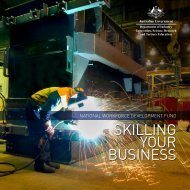 Skilling your Business - Department of Innovation, Industry, Science ...