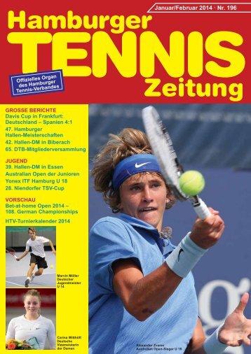 Hamburger Tennis-Zeitung Febr. 2014 -Test -