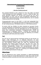 Flächendeckende dynamische Fahrgastinformation im Verbundnetz ...