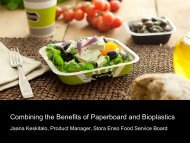Combining the benefits of paperboard and bioplastics - Innovation ...