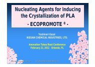 Nucleating Agents for Inducing the Crystallization of PLA ...