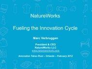 PIRA Biopolymers Symposium2011_FINAL - Innovation Takes Root