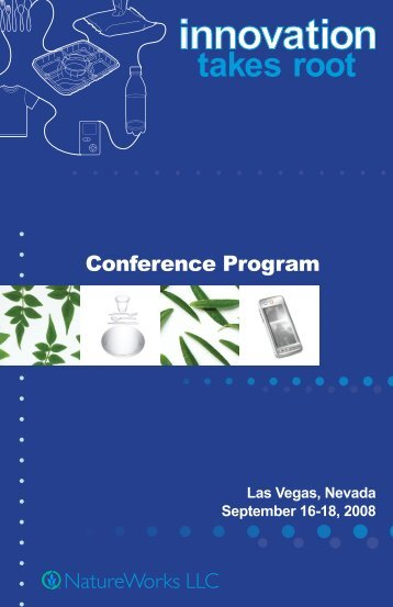 conference brochure - Innovation Takes Root