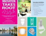 Innovation Exhibition - Innovation Takes Root