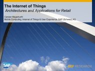 The Internet of Things - Innovative Retail Laboratory