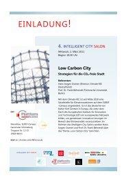 Intelligent City Salon #4 - Einladung 2. Maerz 2011 v 08 02 ... - InnoZ