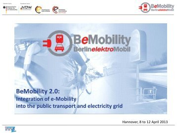 Electric Mobility - InnoZ
