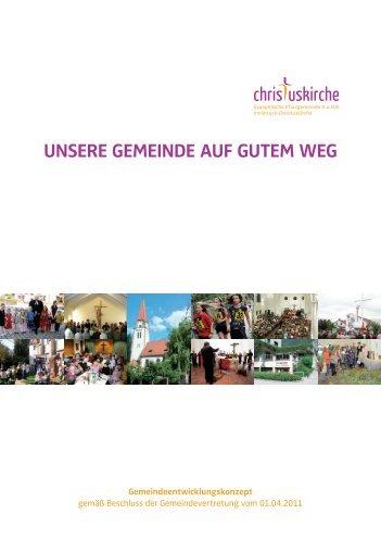 Gemeindeentwicklungskonzept - Evangelische Pfarrgemeinde ...