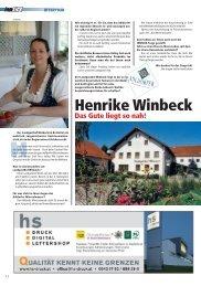 Henrike Winbeck - INNside