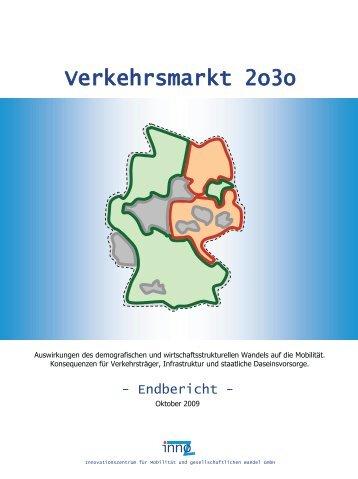 Verkehrsmarkt 2o3o - InnoZ