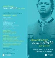 Info-Flyer zum Download -  Museen Deggendorf
