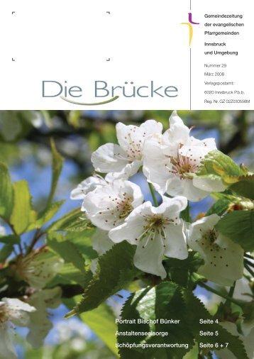 Nr. 29, März 2008 - Evangelische Pfarrgemeinde Innsbruck ...