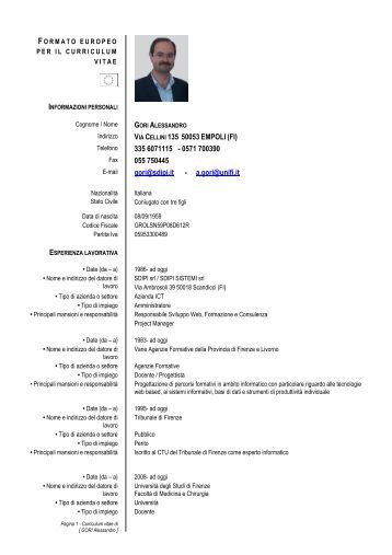 Curriculum Vitae Formato Europeo Svizzera Thesis Help