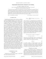 Experimental demonstration of quantum secret sharing