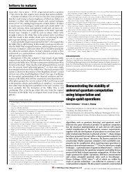 Demonstrating the viability of universal quantum computation using ...