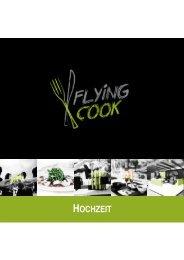 Hochzeitsmappe Flying Cook