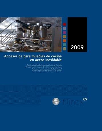 Accesorios para muebles de cocina en acero ... - inoxidables.com